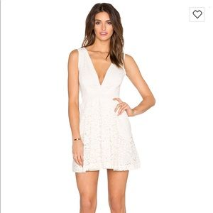 Free People Lovely in Love Lace Dress with Pockets
